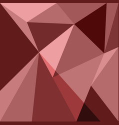 red low poly design element background vector image vector image