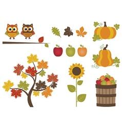 Fall Set vector image