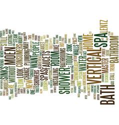 Bathtub repairs faq text background word cloud vector
