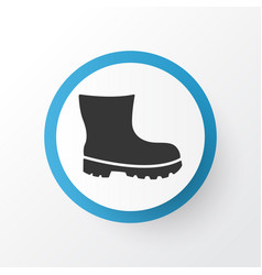Boot icon symbol premium quality isolated vector