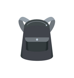 emmo backpack icon flat style vector image