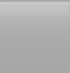 Grey abstract geometrical halftone circle pattern vector