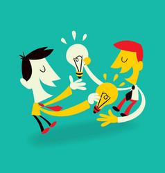 Ideas Exchange vector