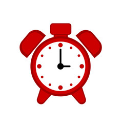 isolated alarm clock icon vector image