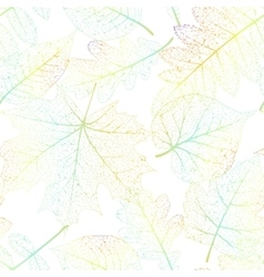 Leaf seamless abstract background eps 10 vector