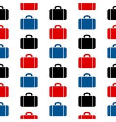Portfolio symbol seamless pattern vector image