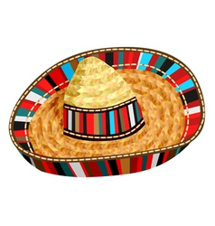 sombrero vector image