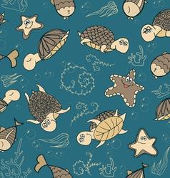 Turtles01 vector image