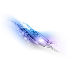 abstract blue grey vector image