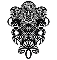 tattoo b graphics vector image vector image