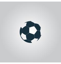 football ball - soccer vector image