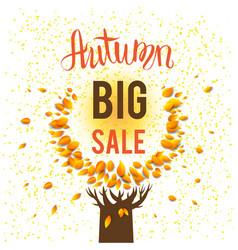 Autumn big sale vector