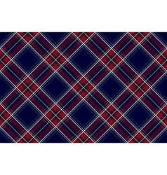Blue red diagonal check fabric texture seamless vector