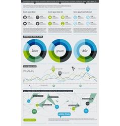 Elements infographics vector