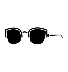 Nerd glasses isolated vector