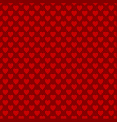 seamless heart pattern background - love concept vector image