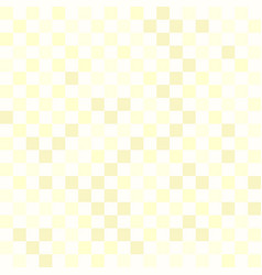 Yellow checkered pattern seamless square vector