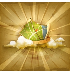 Map Old old style background vector image