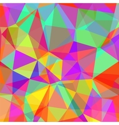 Abstract Colorful Polygonal Background vector image vector image