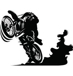 Cartoon motocycle vector