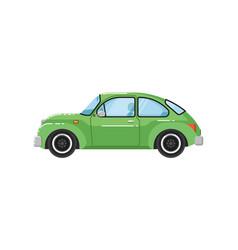 classic retro car isolated vector image