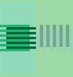 green light background flat geometric horizontal vector image