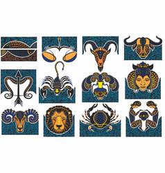 horoscope icon vector image