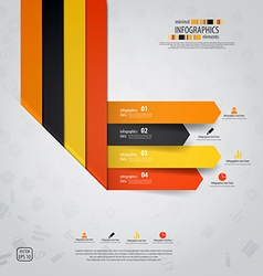 line infographics 3 vector image