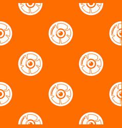 Log pattern orange vector