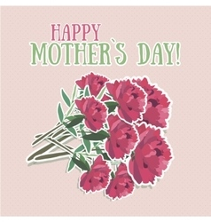 Mothers day flower vector