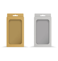 Paper packing boxes 3d vector