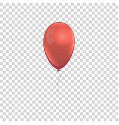 realistic air gel balloon vector image
