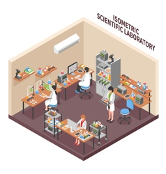 Science Lab Environment Composition vector
