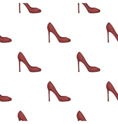 Stiletto icon in cartoon style isolated on white vector