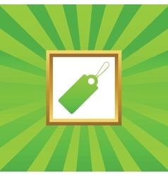 String tag picture icon vector image