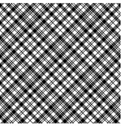 Tartan black watch clan plaid seamless pattern vector
