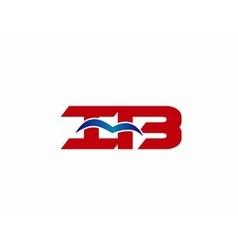 iB company logo vector image vector image