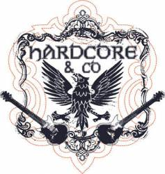 hardcore music vector image vector image