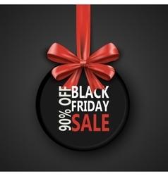 Black Friday sale inscription design template vector image vector image