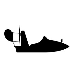 hydrocopter vector image