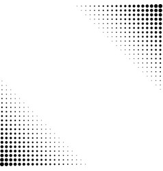 background of round dots vector image