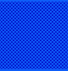 blue repeating heart pattern design background vector image