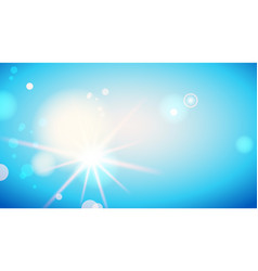 blue sky card vector image