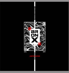 Bronx worldwide division abstract background vector