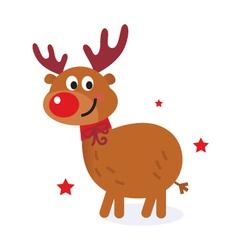 Cute christmas cartoon vector