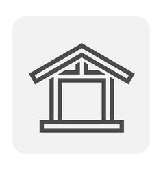 engineering icon black vector image