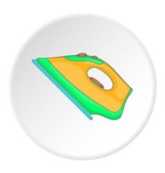 Iron icon flat style vector