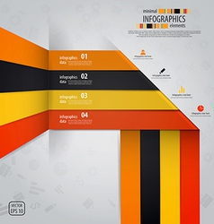 line infographics vector image vector image