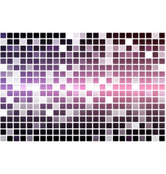Purple blue pink occasional opacity mosaic over vector