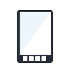 tablet technology digital virtual icon design vector image